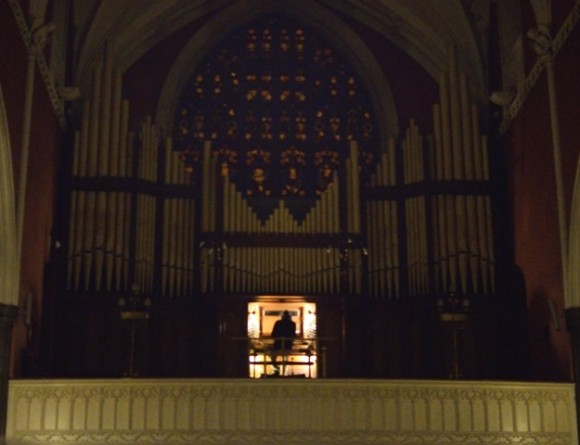 John Zorn playing the Willis Organ in St.Patrick's Cathedral Dundalk