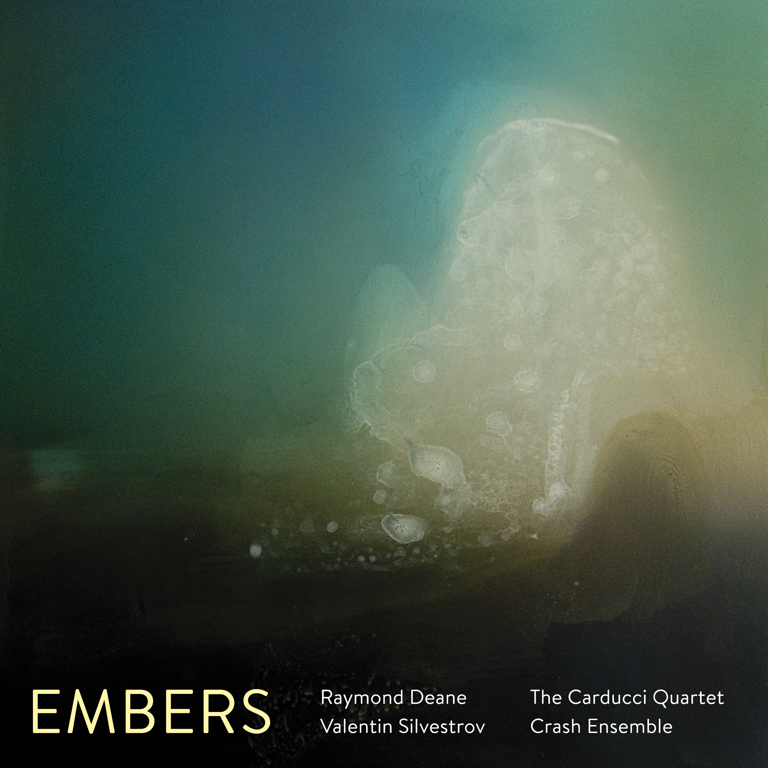 Embers CD Cover